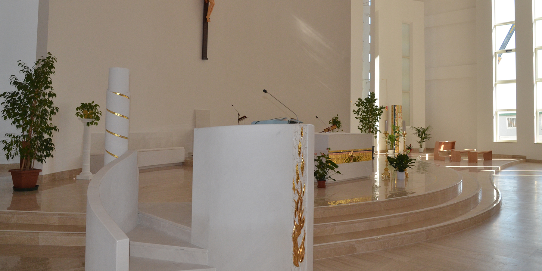 Centralina ORION VEGA e microfoni ORION KOMPANDER – Beata Teresa di Calcutta