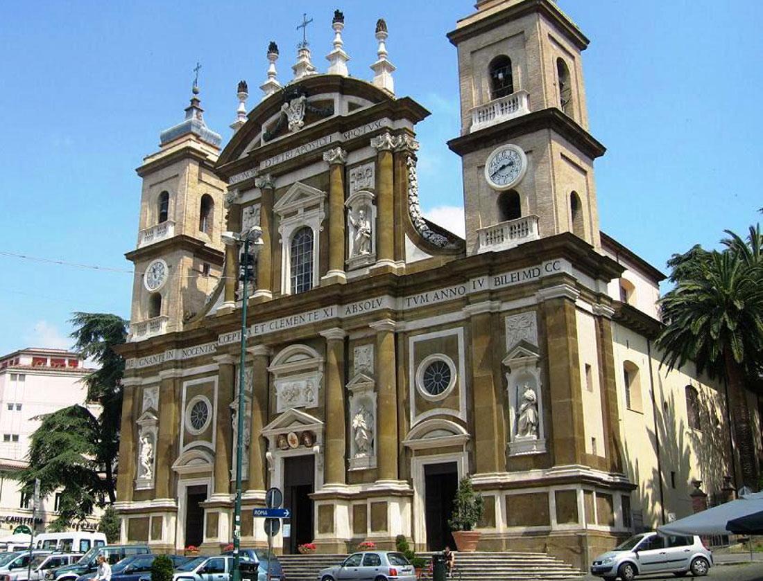 Impianto con diffusori attivi, tecnologia Lambda Sound – Cattedrale di San Pietro Apostolo